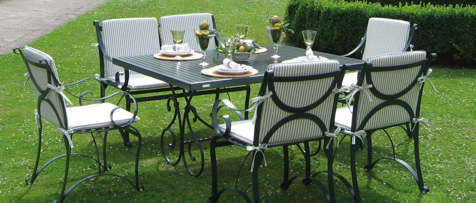 home edelstahl gartenm bel bevergarden. Black Bedroom Furniture Sets. Home Design Ideas